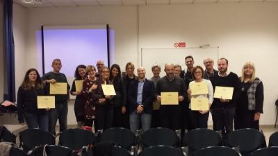 Consegna dei Certificati CLA, 5 novembre 2018