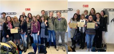 Consegna dei certificati CLA, 21 marzo 2019
